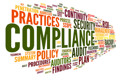 ISO 9001 registrar about Compliance and audit in words